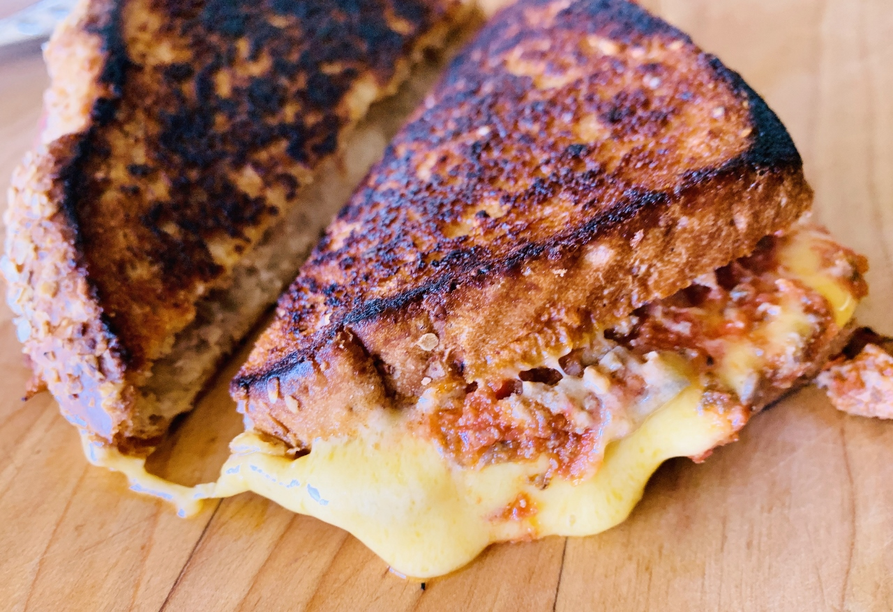 Meaty Italian Grilled Cheese – Recipe! Image 2