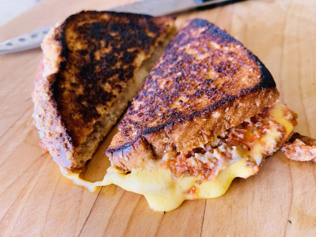 Meaty Italian Grilled Cheese – Recipe! Image 1