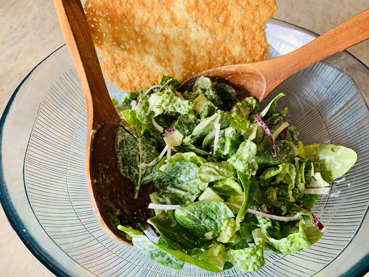 Caesar Salad with Crispy Frico – Recipe! Image 5