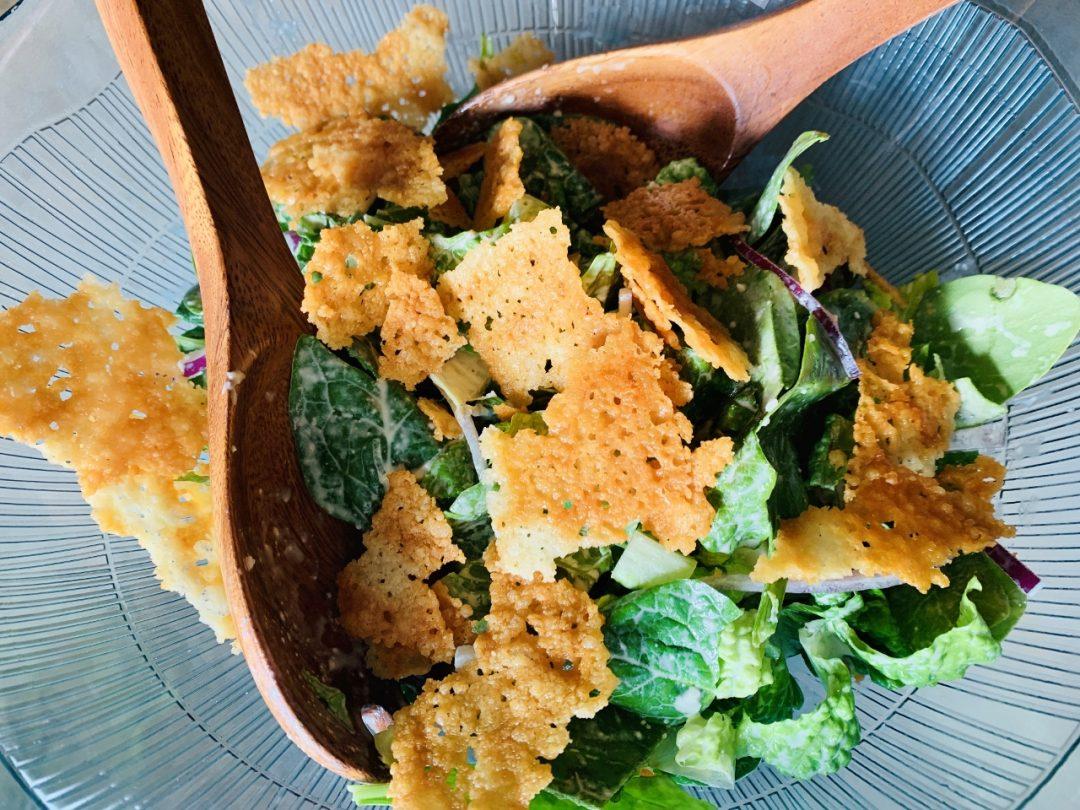 Caesar Salad with Crispy Frico – Recipe! Image 1