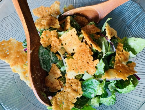 Caesar Salad with Crispy Frico – Recipe!