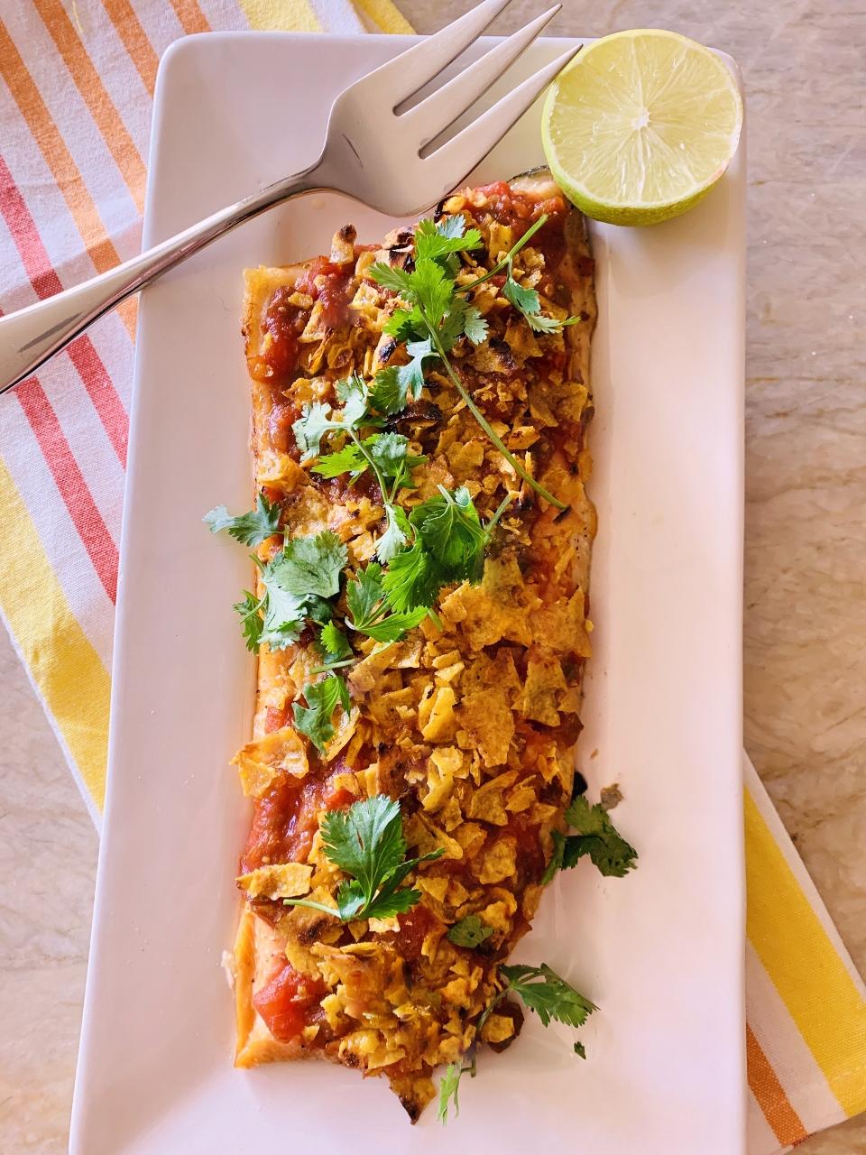 3-Ingredient Chips & Salsa Salmon – Recipe! Image 2