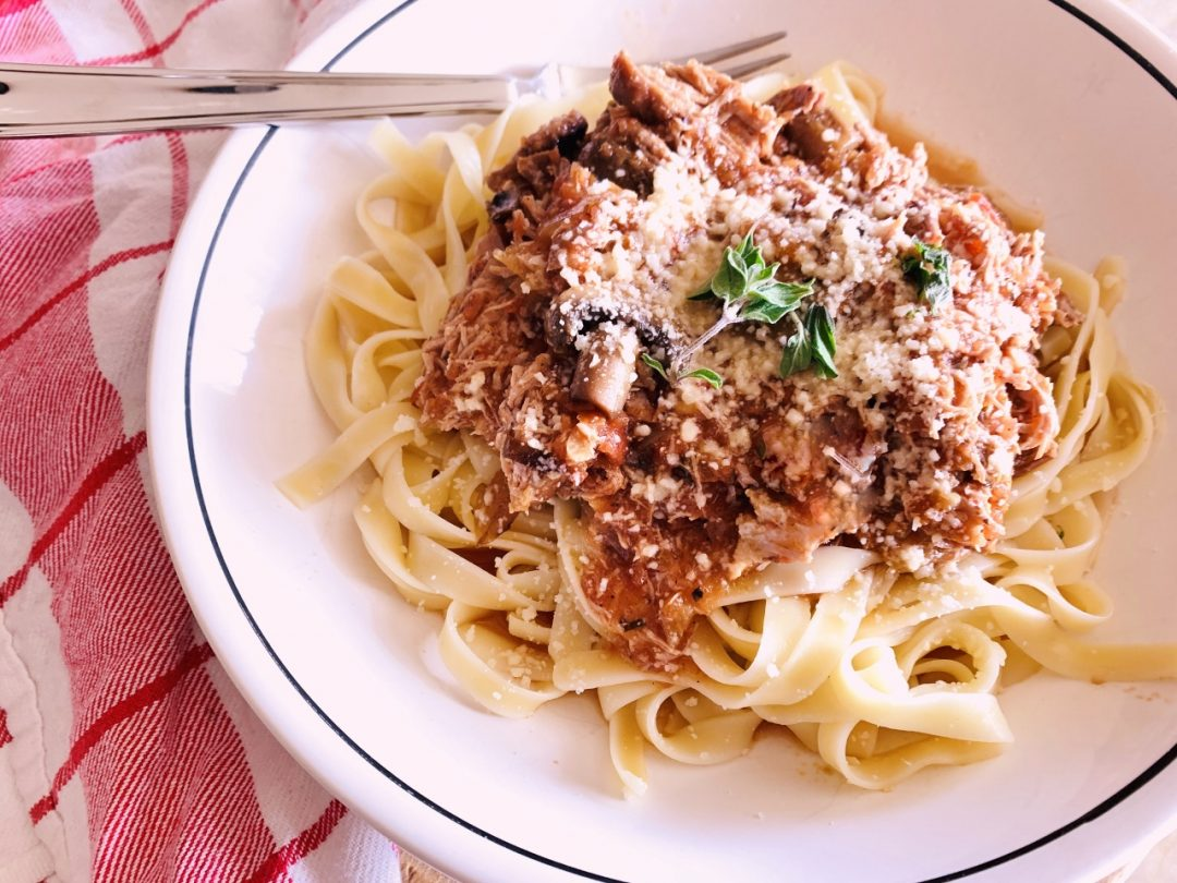 Slow-Cooker Duck & Mushroom Ragu – Recipe! Image 1