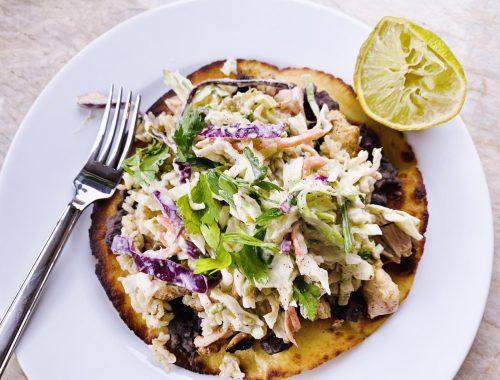 Grilled Chicken Tostadas – Recipe!
