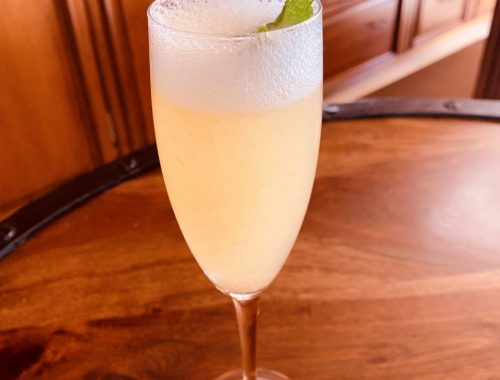 Peach Bellini – Recipe!
