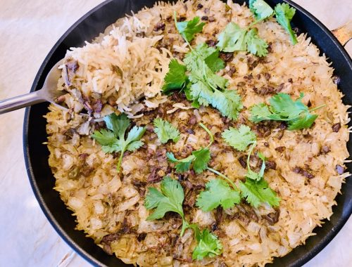 Baked Tapenade Basmati Rice – Recipe!