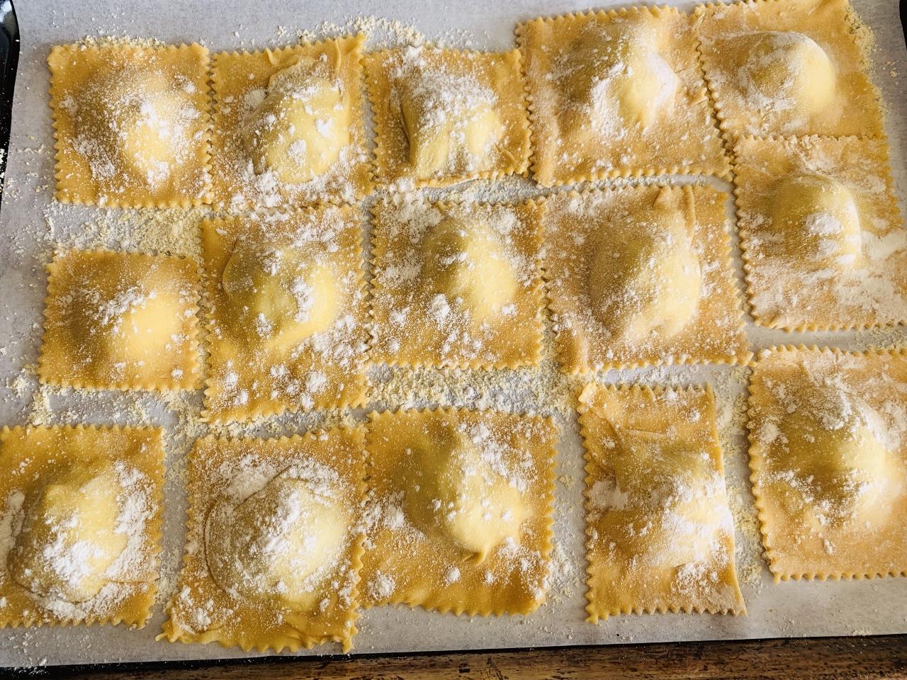 Lemony Artichoke Ravioli – Recipe! Image 8