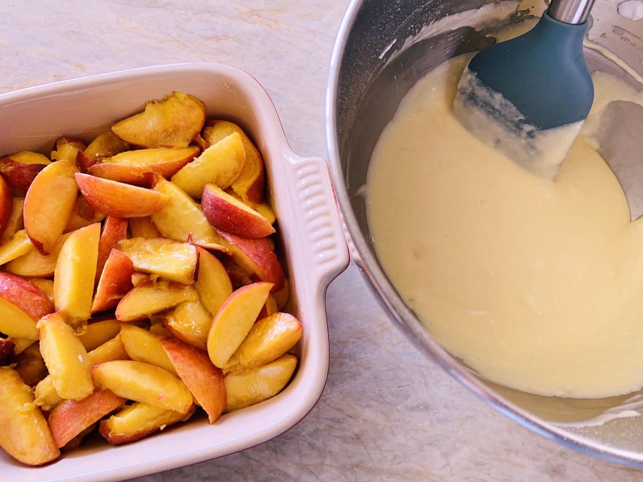 Peach Spoon Cake – Recipe! Image 4