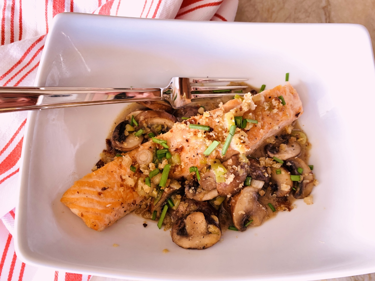 Salmon with Miso & Mushrooms – Recipe! Image 2