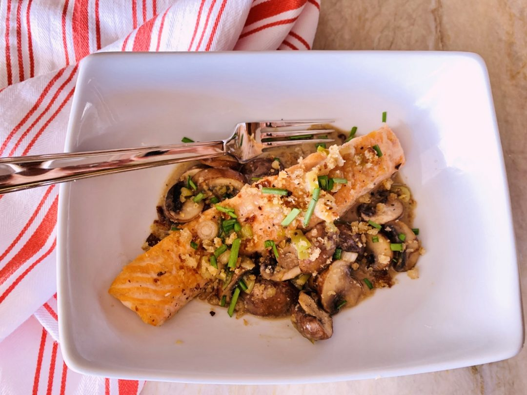 Salmon with Miso & Mushrooms – Recipe! Image 1