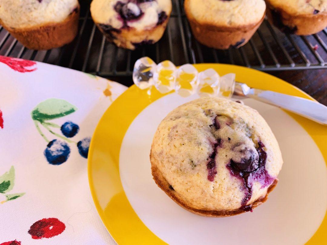 Blueberry-Buttermilk Muffins – Recipe! Image 1