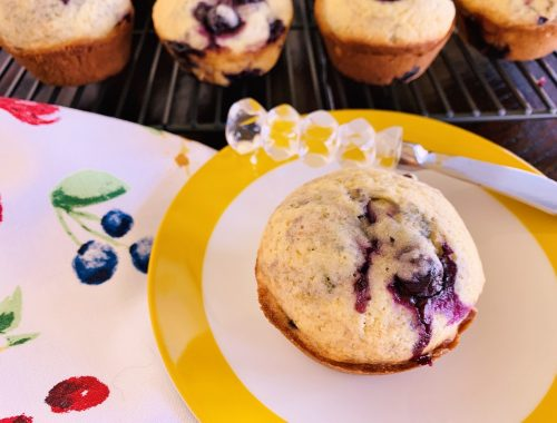 Blueberry-Buttermilk Muffins – Recipe!