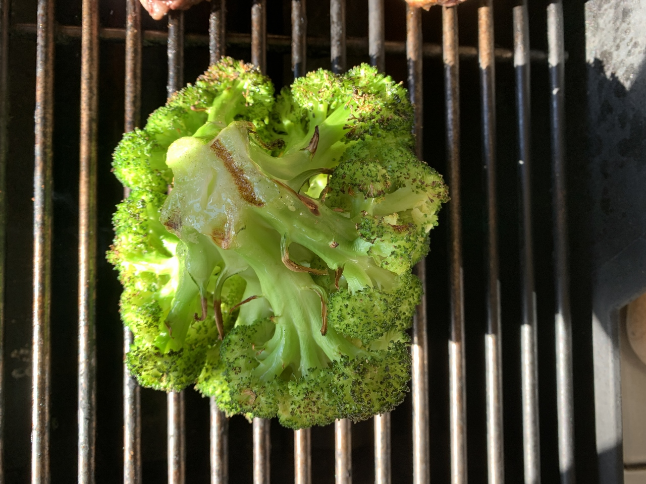 Grilled Crown of Broccoli with Za'atar Oil – Recipe! Image 4