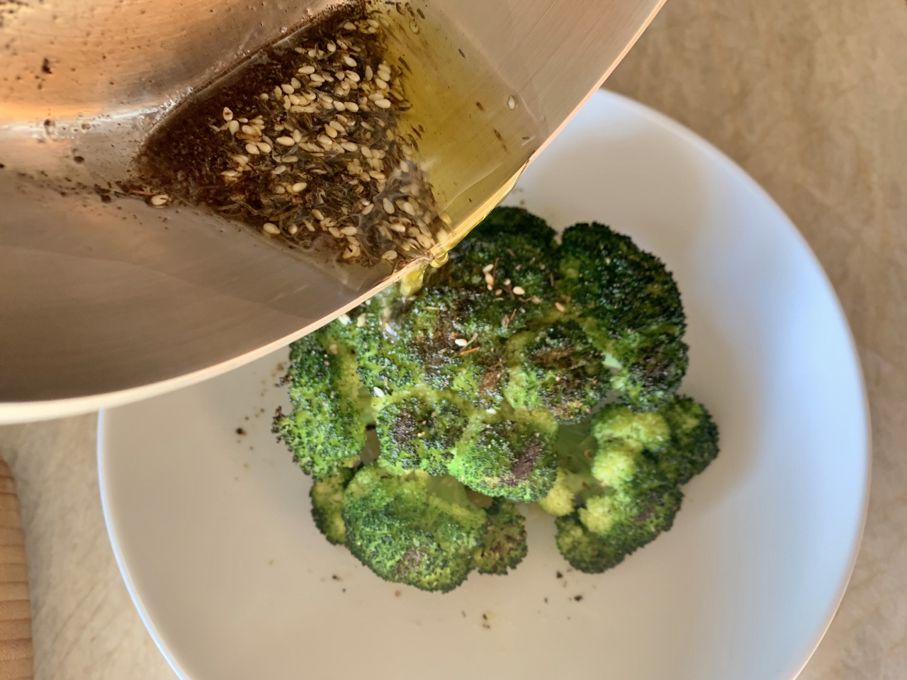 Grilled Crown of Broccoli with Za'atar Oil – Recipe! Image 5