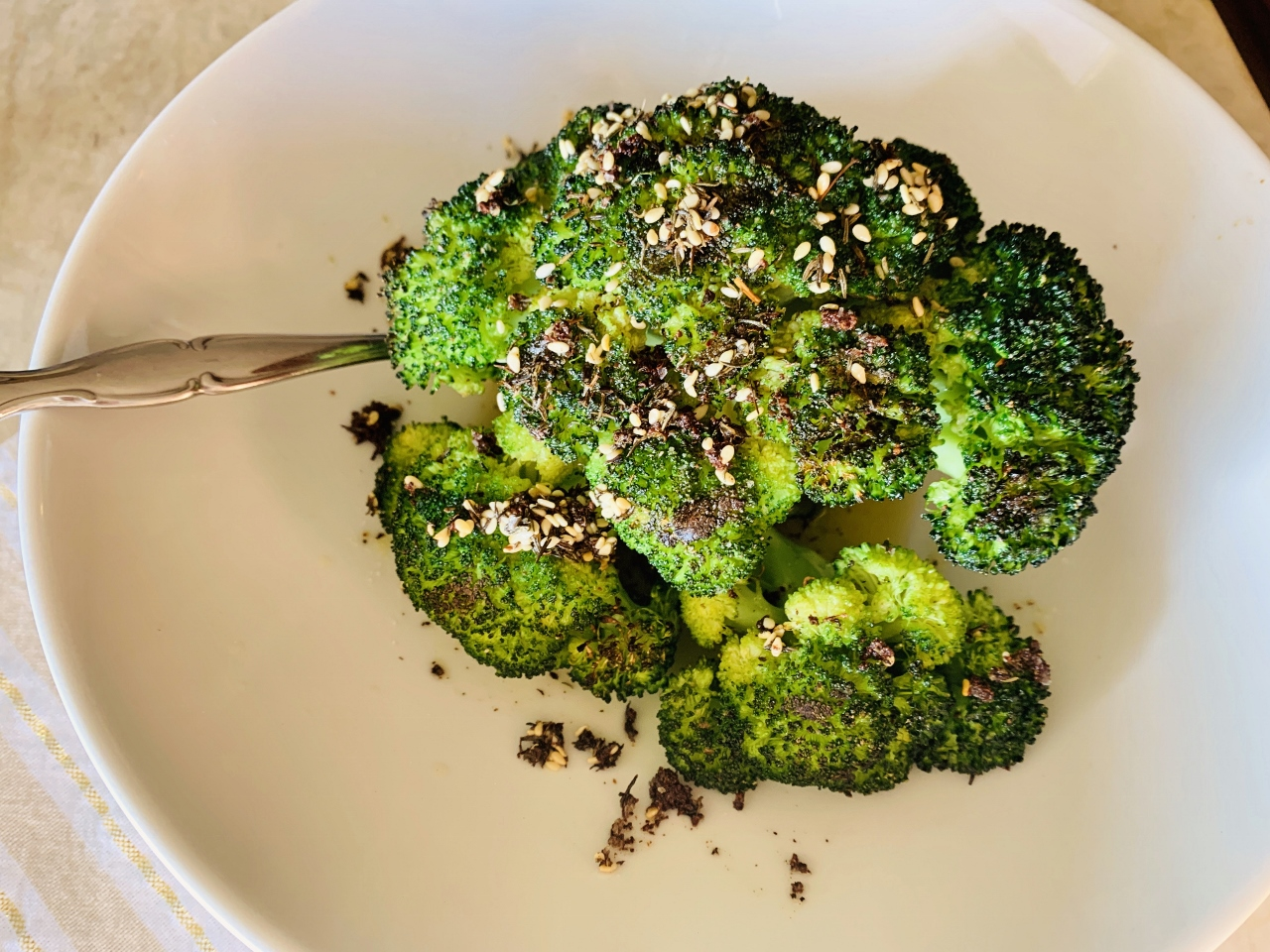 Grilled Crown of Broccoli with Za'atar Oil – Recipe! Image 2