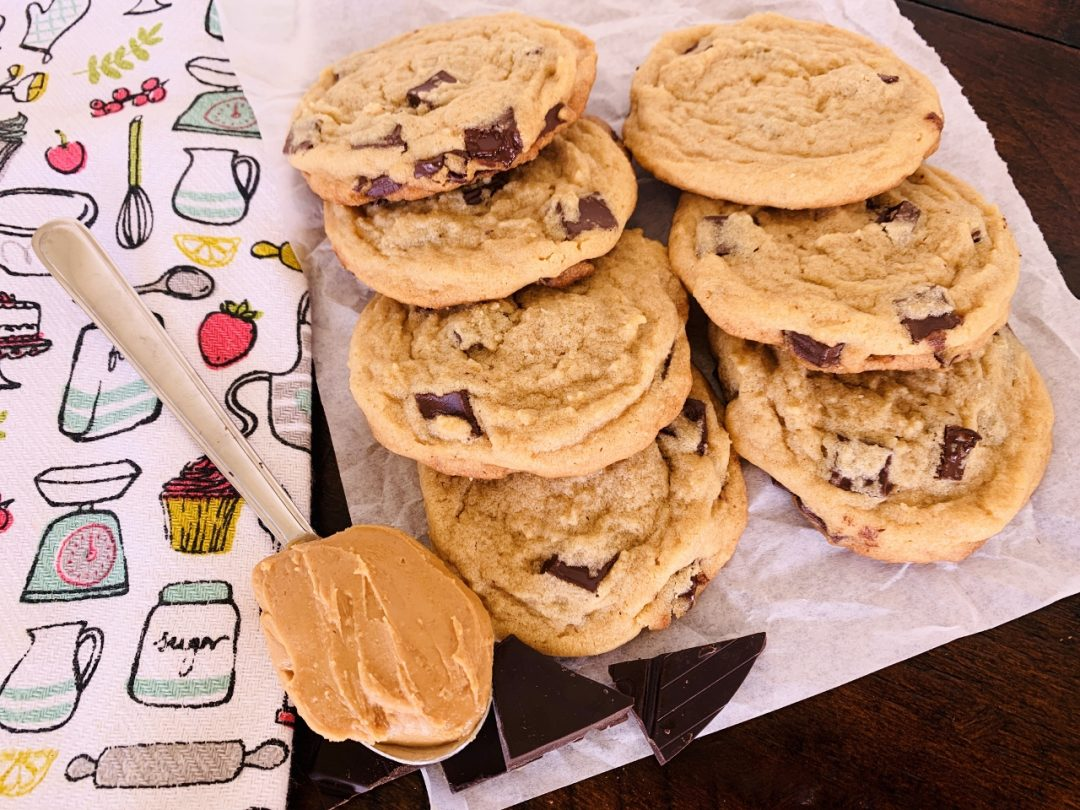 Peanut Butter Chocolate Chunk Cookies – Recipe! Image 1
