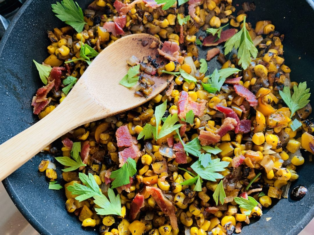 Summer Succotash with Bacon – Recipe! Image 1