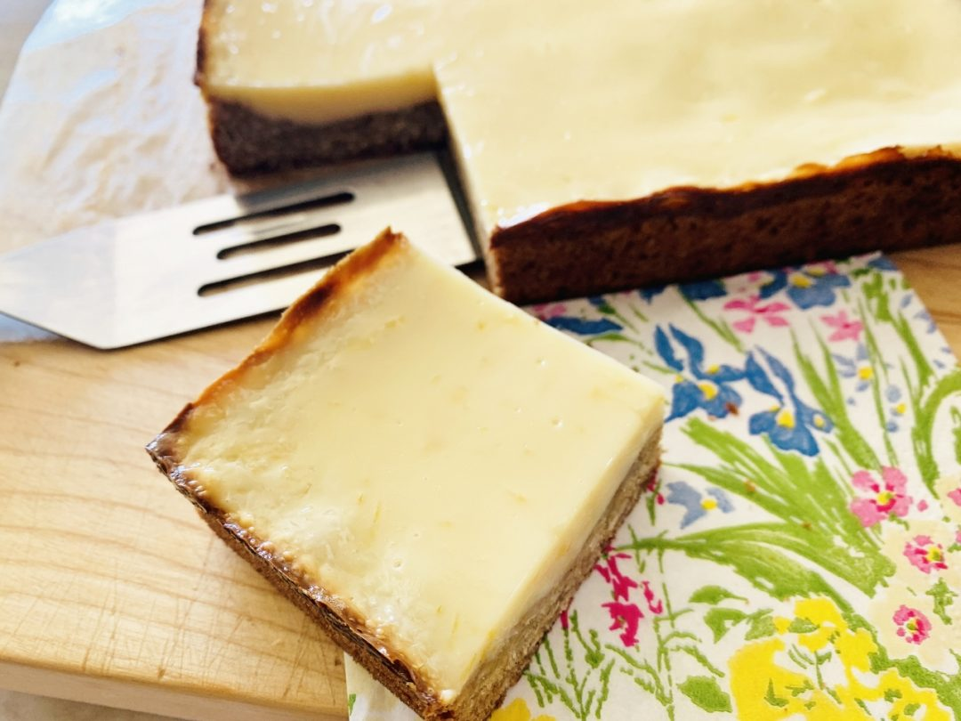 Oatmeal Cookie Crust Lemon Bars – Recipe! Image 1