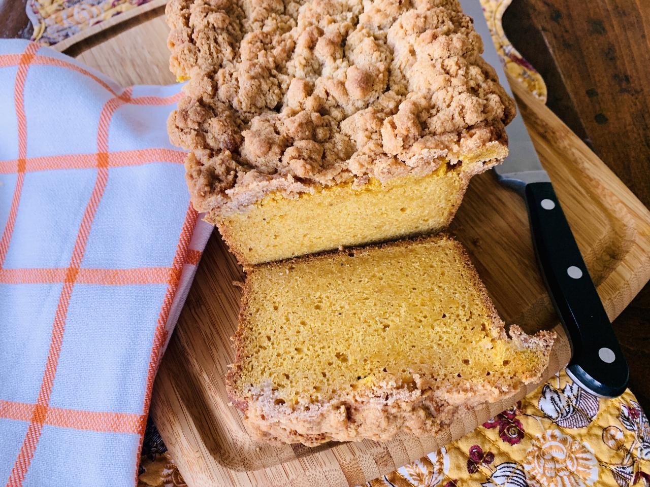 Crumb Topped Pumpkin Bread – Recipe! Image 2