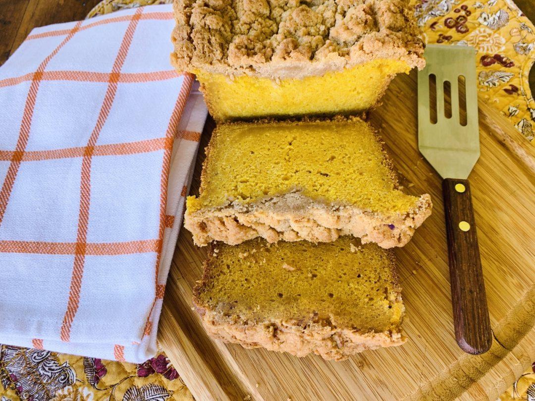 Crumb Topped Pumpkin Bread – Recipe! Image 1