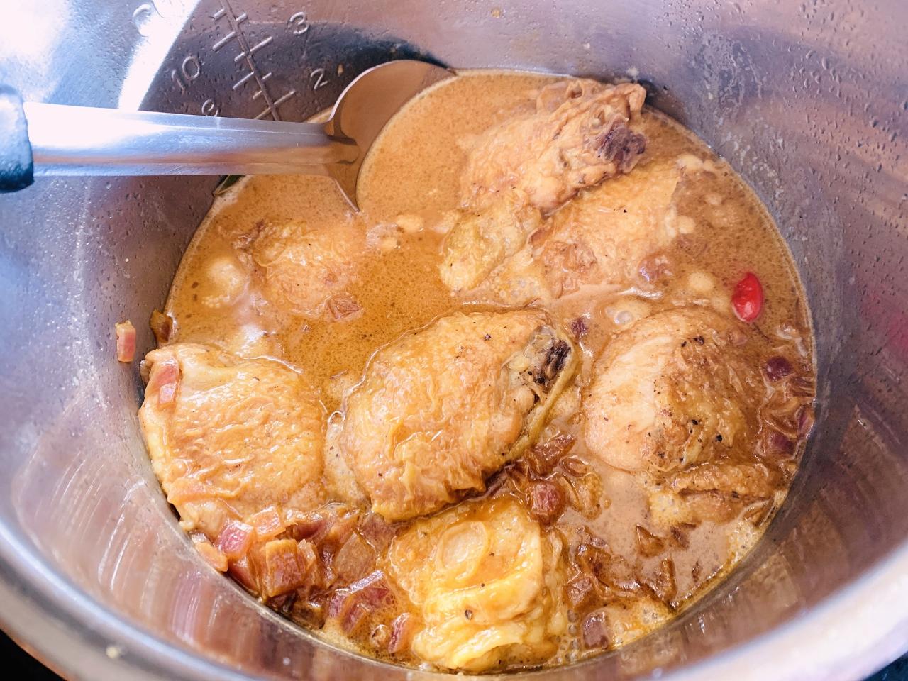 Instant Pot Chicken in Coconut Milk Adobo (Adobo Sa Gata) – Recipe! Image 6
