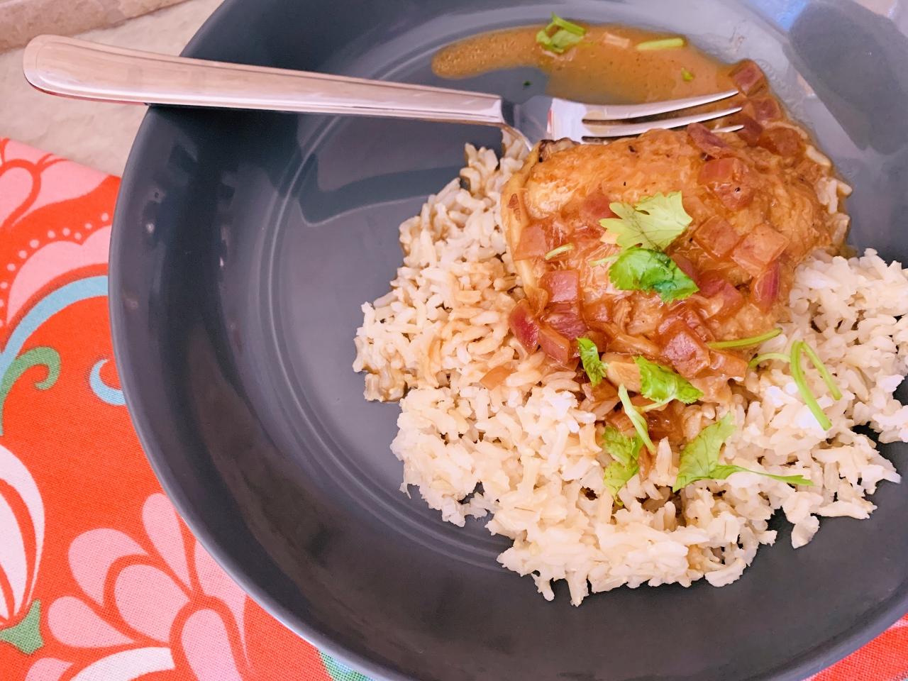 Instant Pot Chicken in Coconut Milk Adobo (Adobo Sa Gata) – Recipe! Image 2