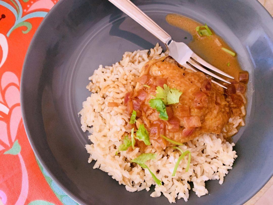 Instant Pot Chicken in Coconut Milk Adobo (Adobo Sa Gata) – Recipe! Image 1