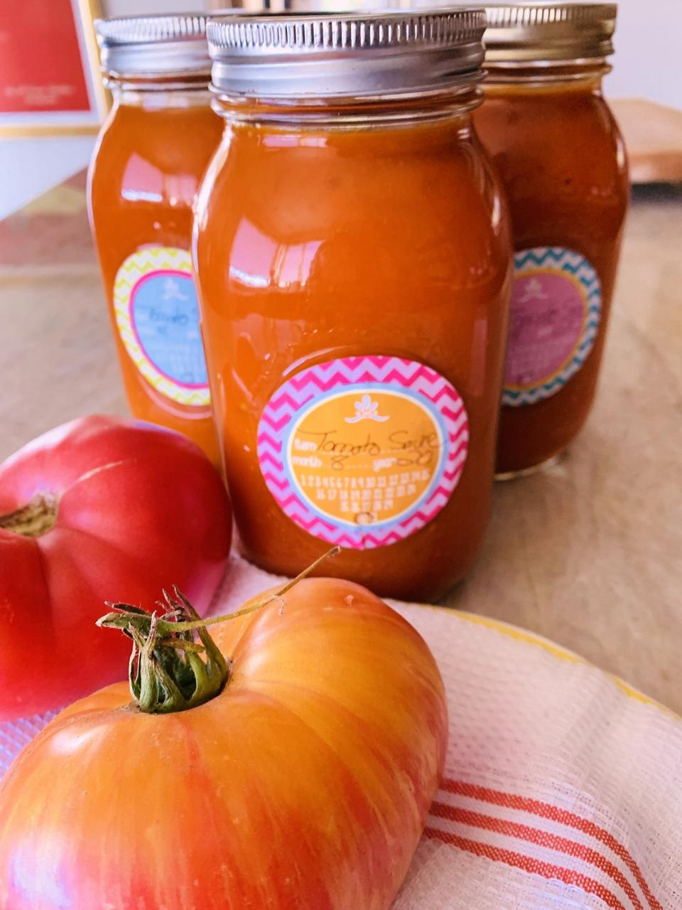 Electric Pressure Cooker Heirloom Tomato Sauce – Recipe! Image 1