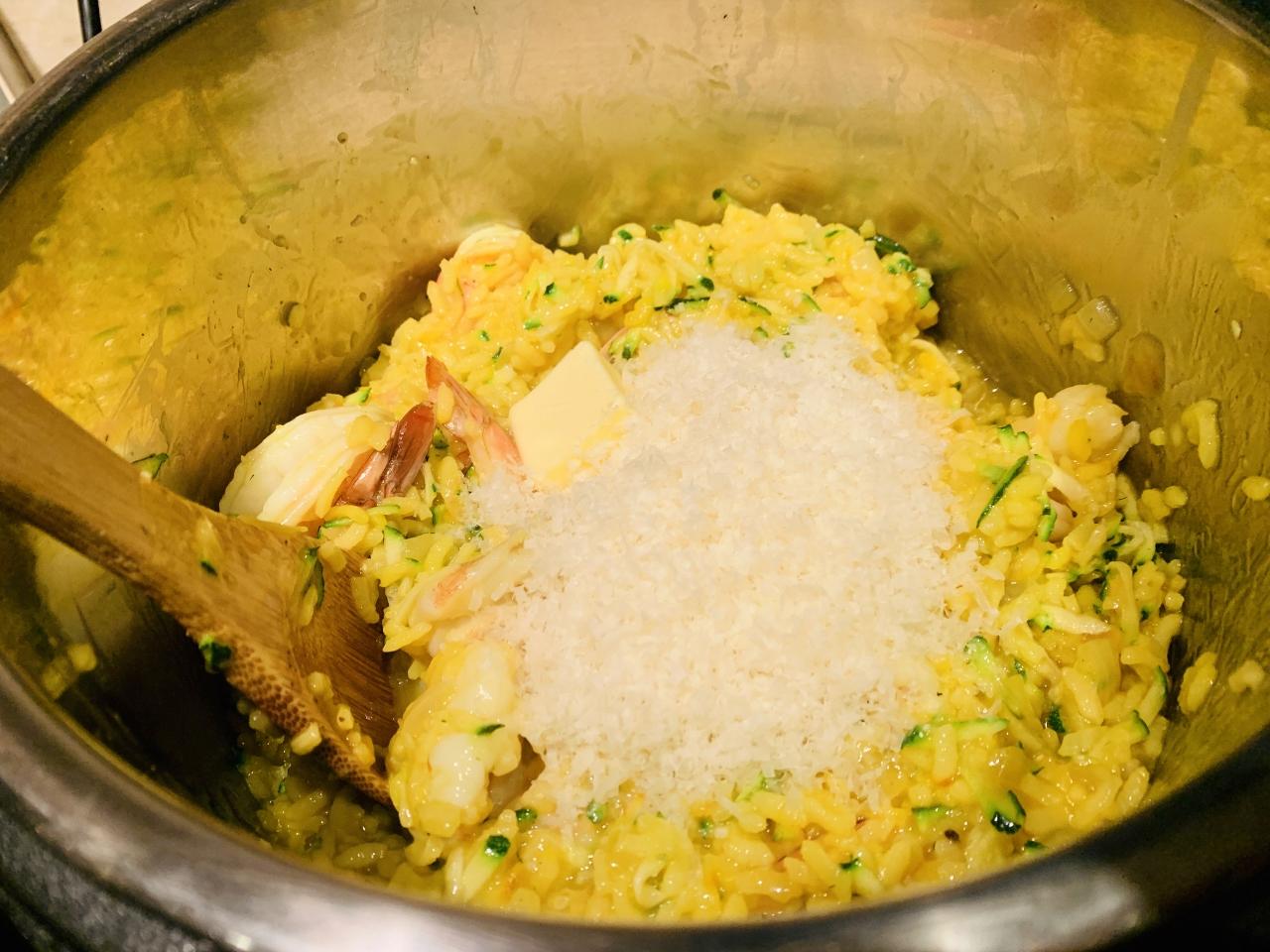 Instant Pot Saffron Shrimp & Zucchini Risotto – Recipe! Image 5
