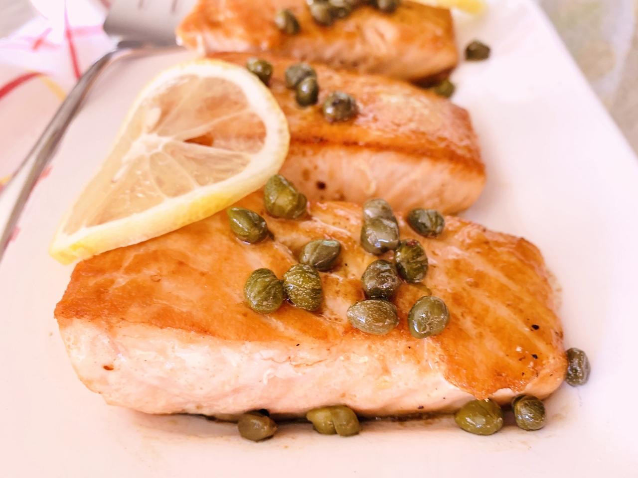 Salmon Picata – Recipe! Image 2
