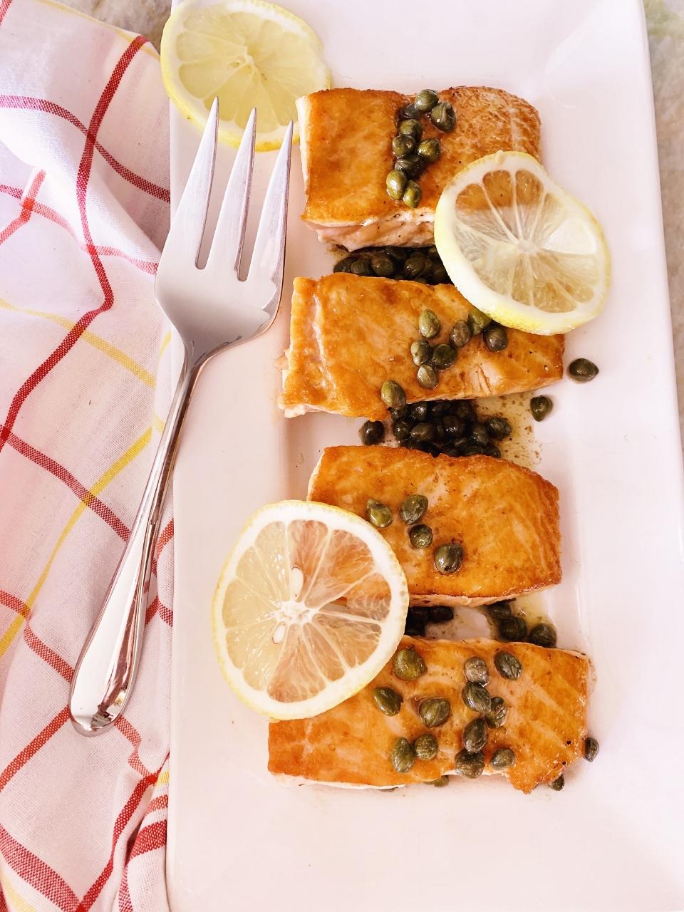 Salmon Picata – Recipe! Image 4