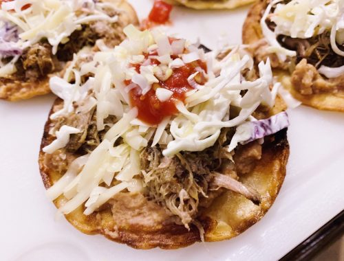Carnitas Tostadas – Recipe!