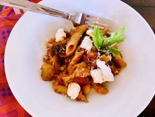 Instant Pot Pasta alla Norma – Recipe!