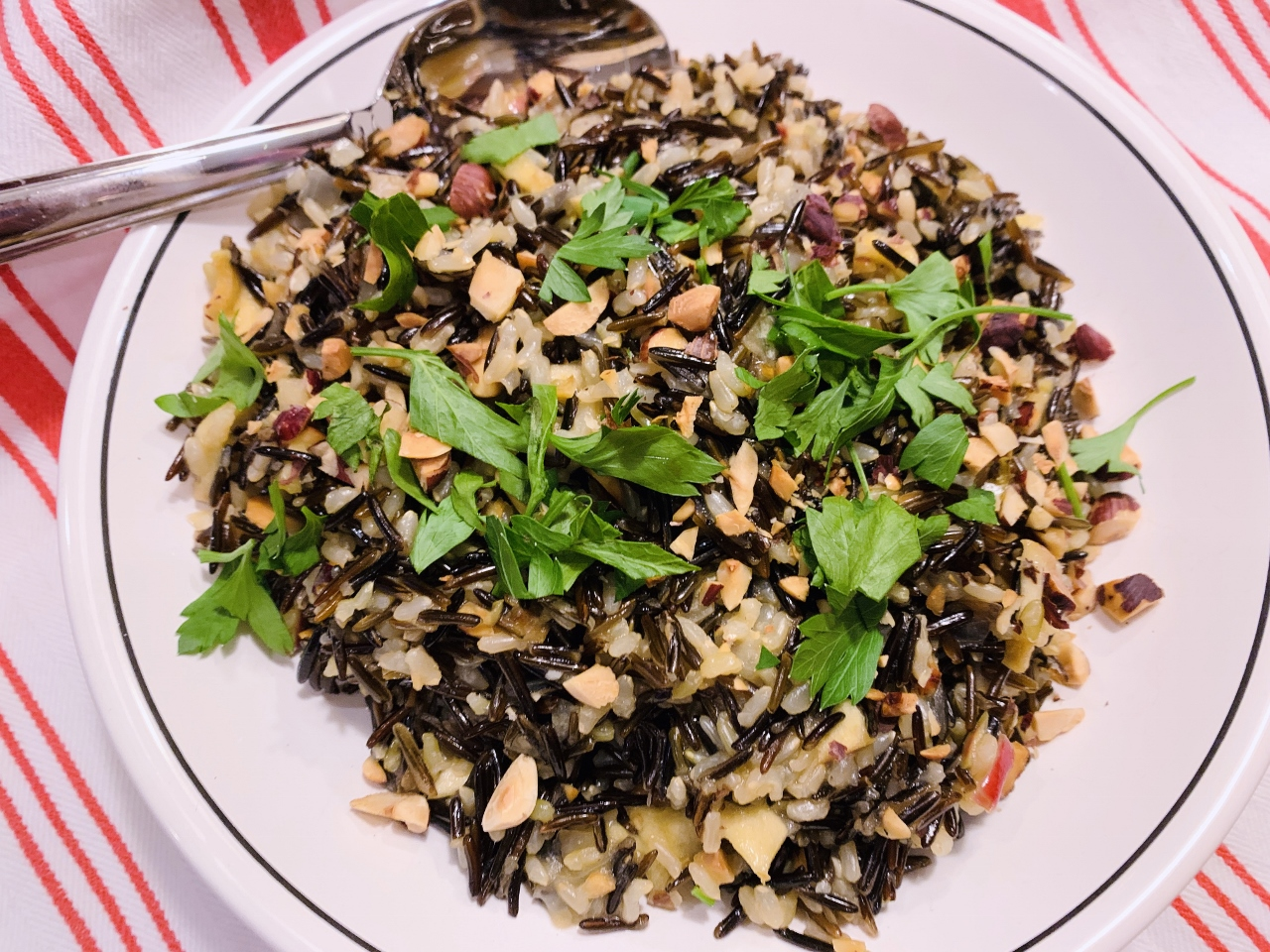 Instant Pot Wild Rice with Dried Apples & Hazelnuts – Recipe! Image 2
