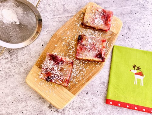 Cranberry Lemon Bars – Recipe!