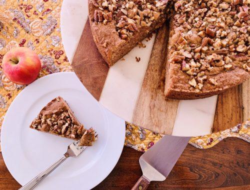 Paleo Apple Pecan Cake – Recipe!