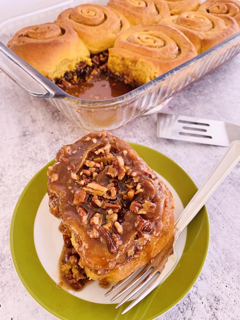 Pumpkin Pecan Sticky Buns – Recipe! Image 1
