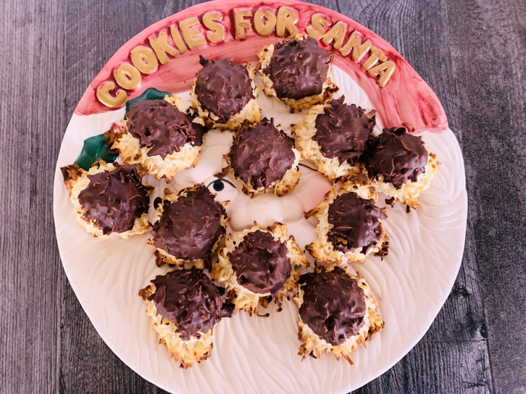 Chocolate Dipped Macaroons – Recipe! Image 1