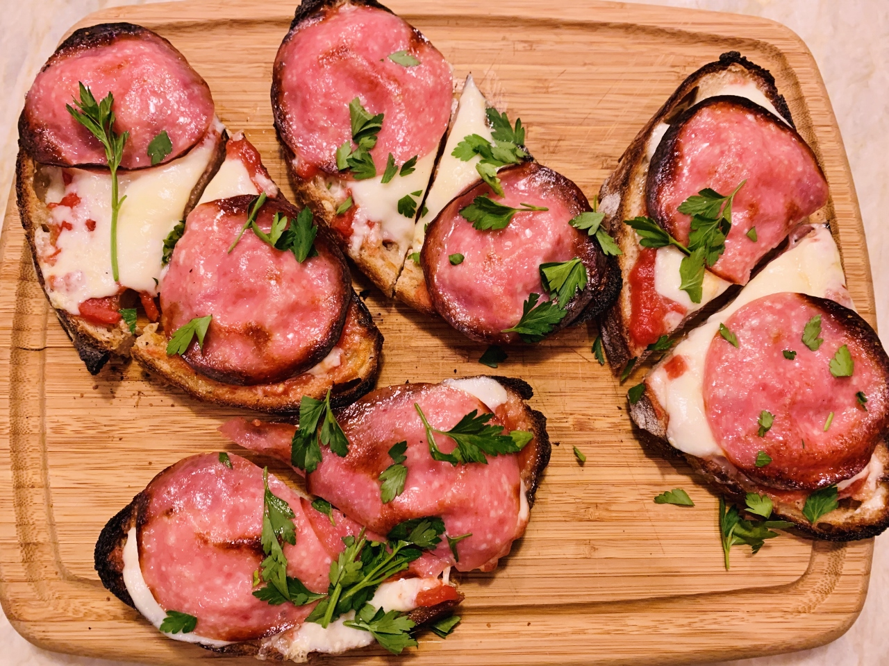 Pizza Tartines – Recipe! Image 2