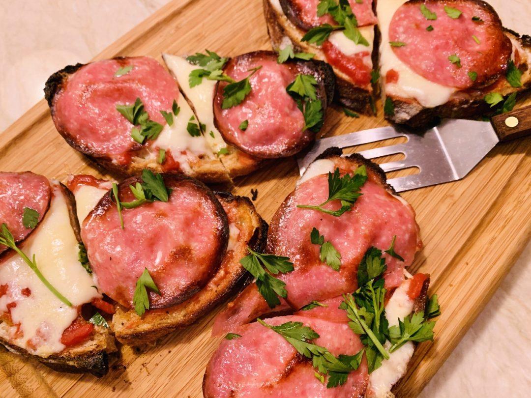 Pizza Tartines – Recipe! Image 1