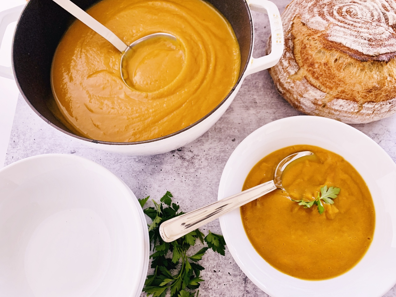 Roasted Butternut Squash & Parsnip Soup – Recipe! Image 2