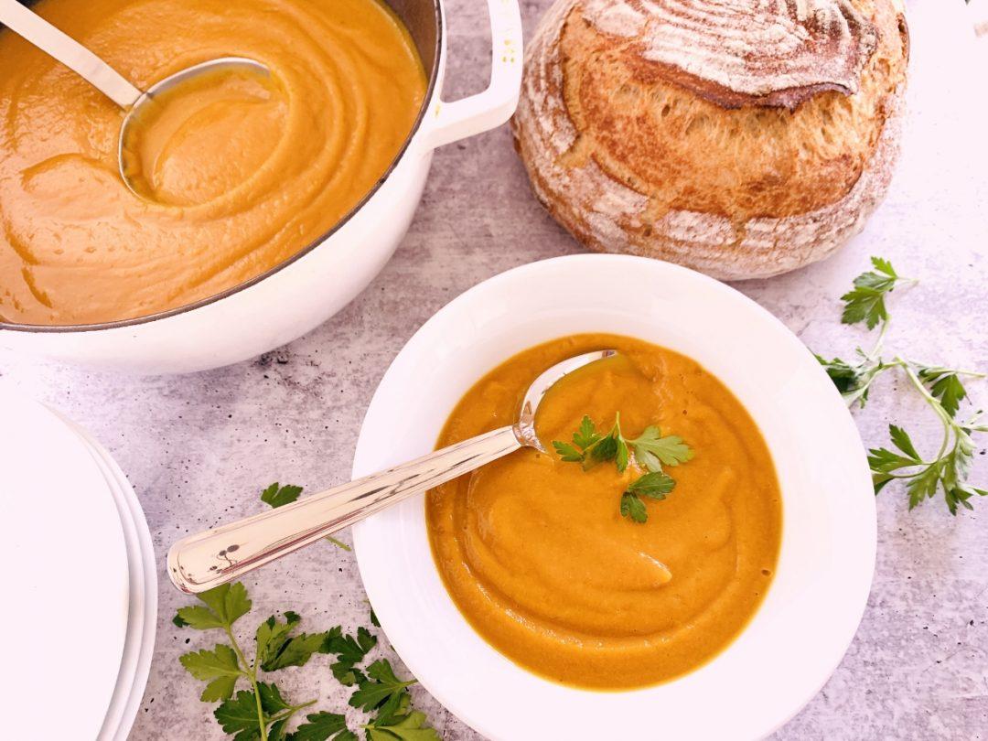 Roasted Butternut Squash & Parsnip Soup – Recipe! Image 1