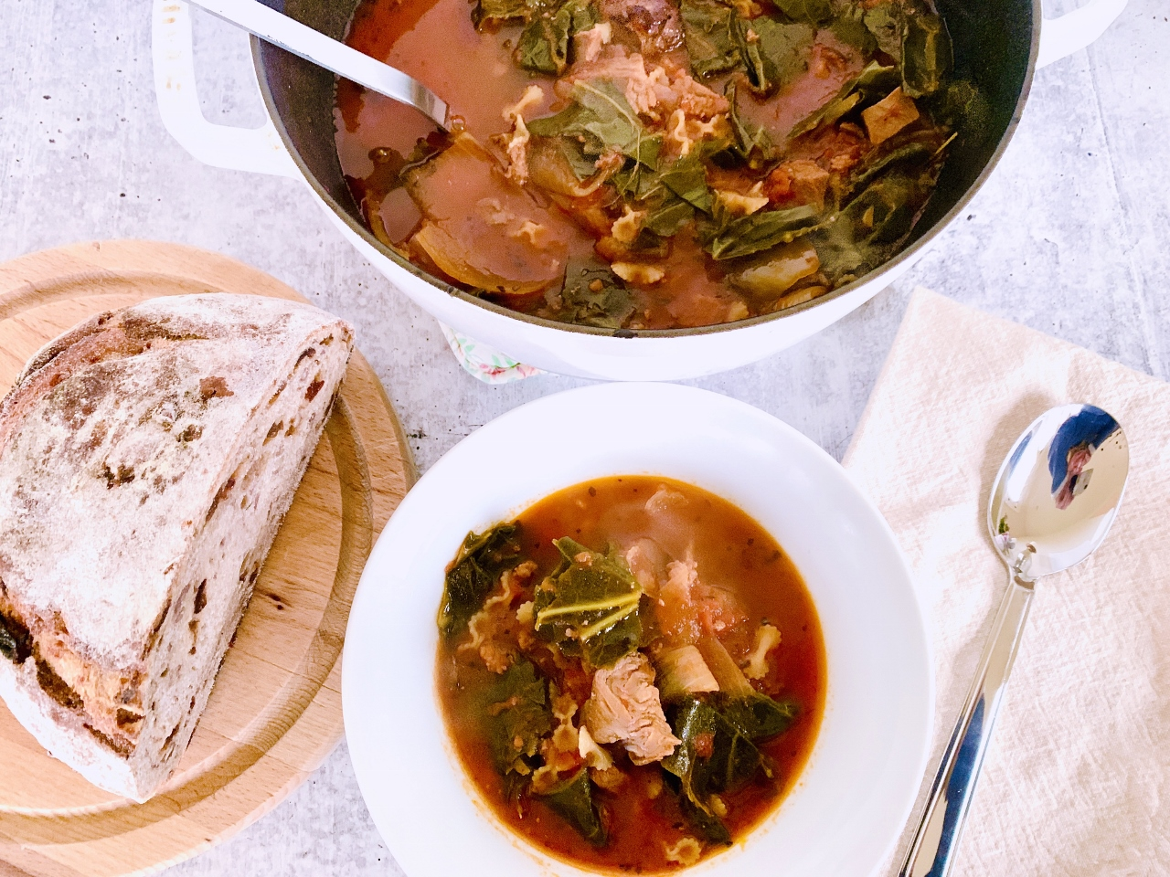Tomatoey Beef & Greens Soup – Recipe! Image 5