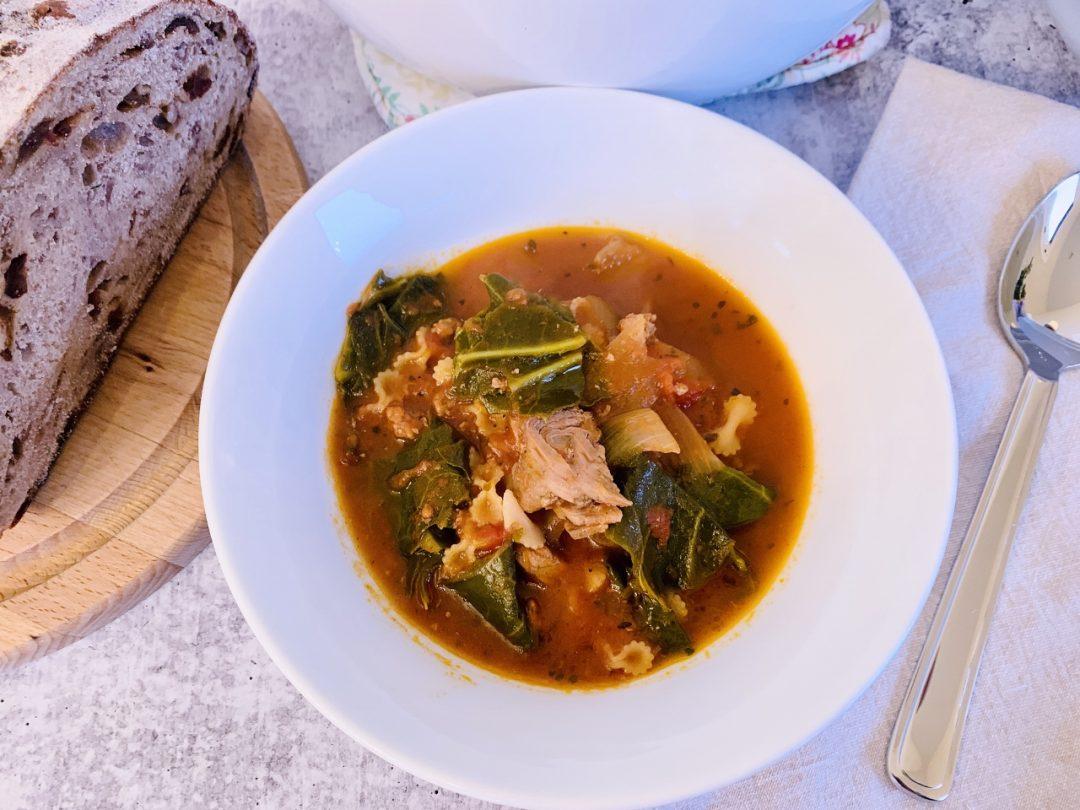 Tomatoey Beef & Greens Soup – Recipe! Image 1