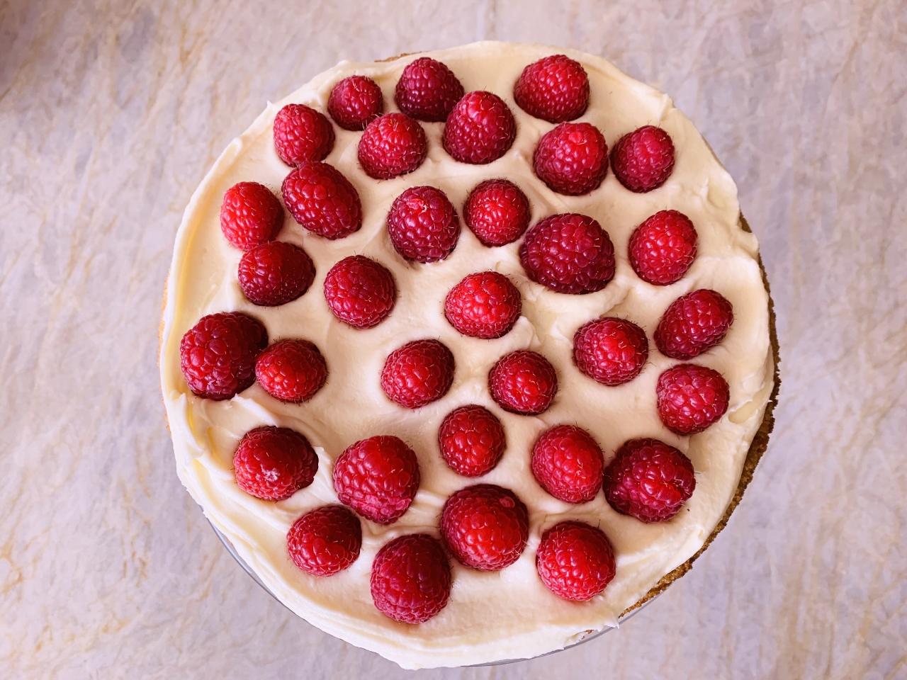 Chai White Chocolate Raspberry Cake – Recipe! Image 4