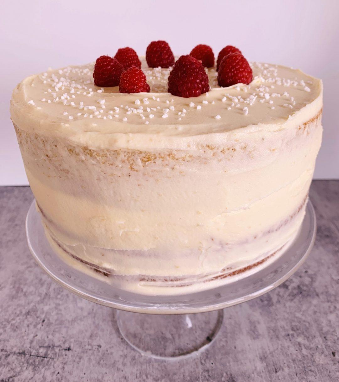 Chai White Chocolate Raspberry Cake – Recipe! Image 1