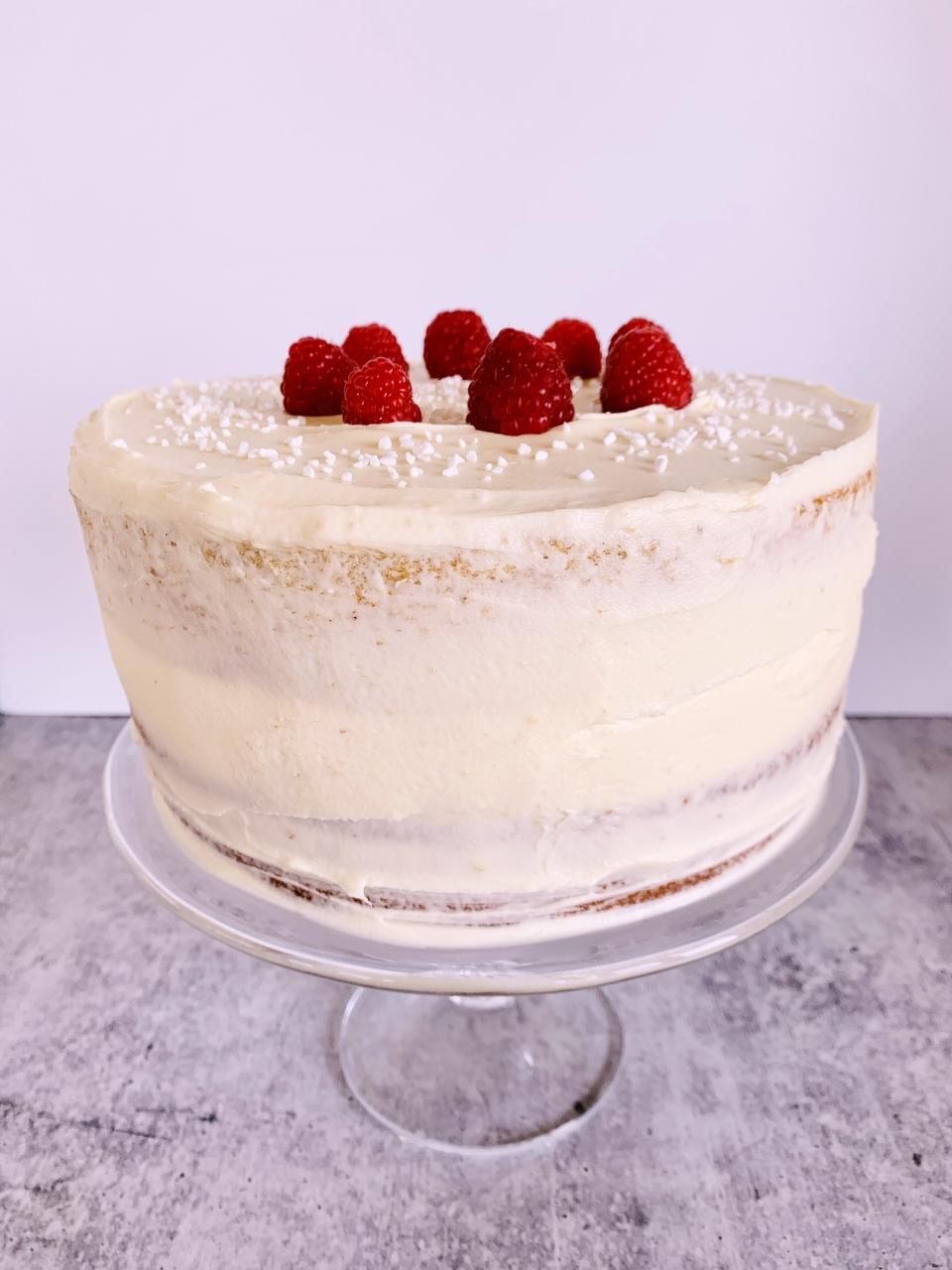 Chai White Chocolate Raspberry Cake – Recipe! Image 2