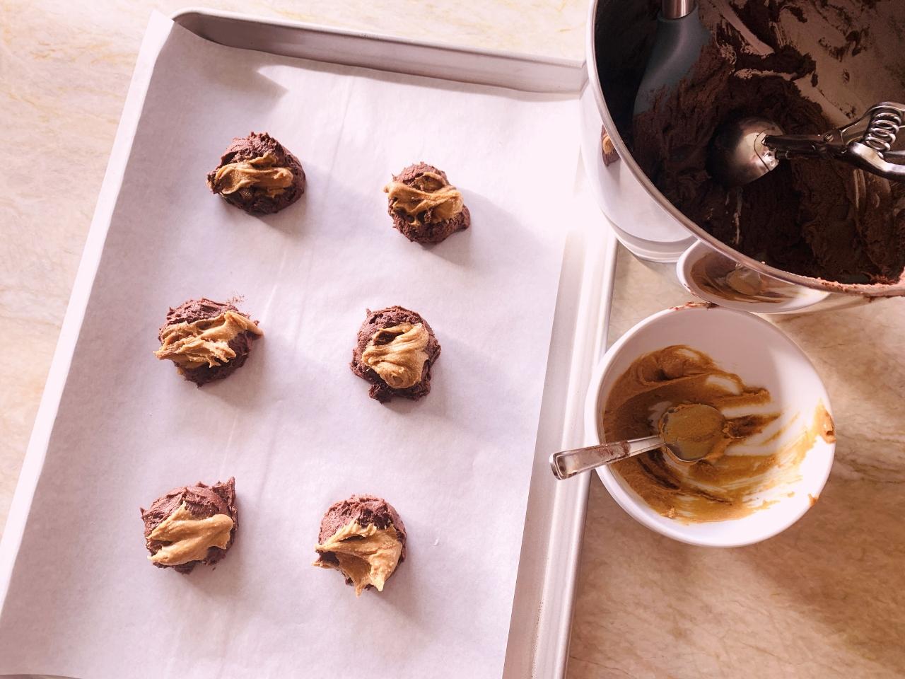 Chocolate & Peanut Butter Schmear Cookies – Recipe! Image 3