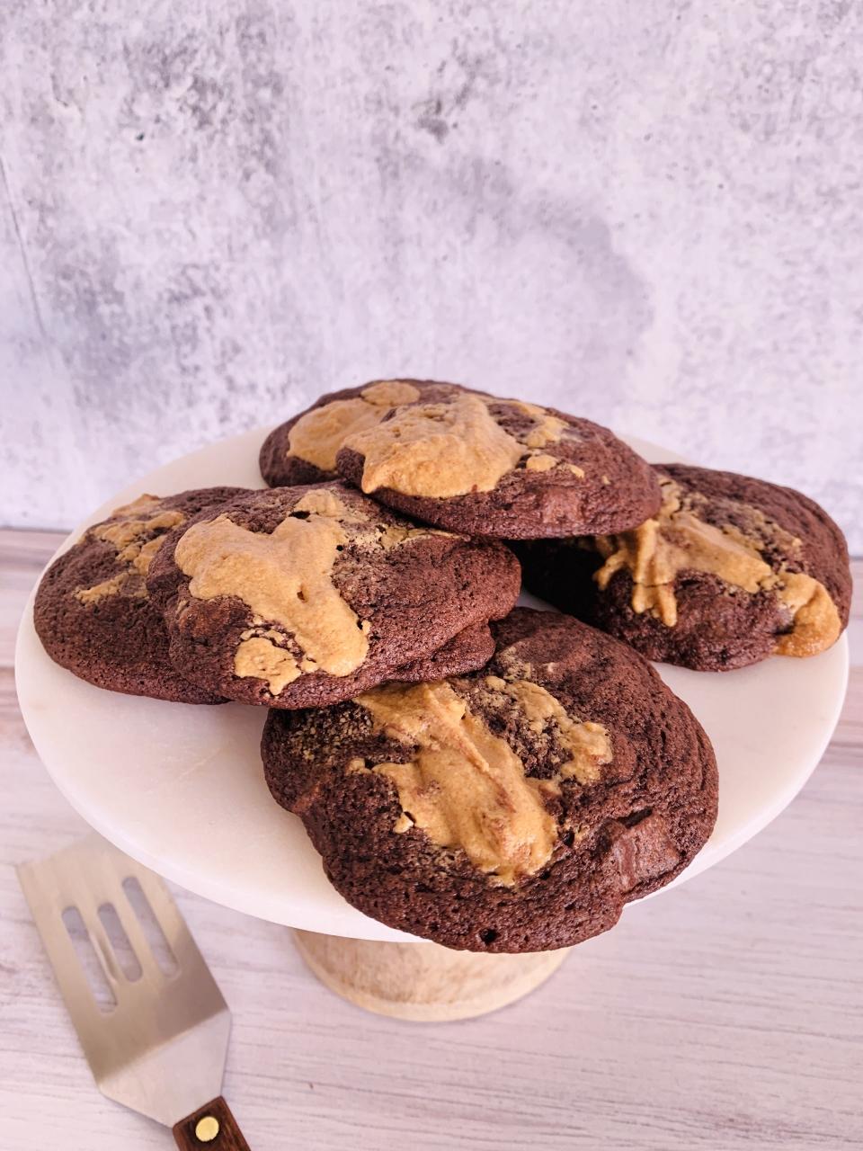 Chocolate & Peanut Butter Schmear Cookies – Recipe! Image 5
