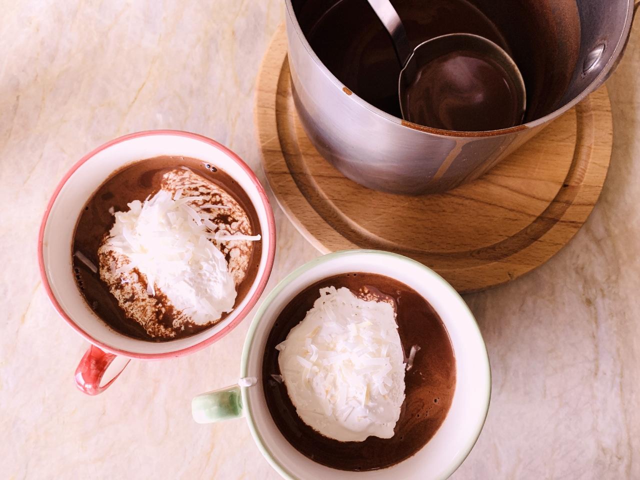 Coconut Hot Chocolate – Recipe! Image 4